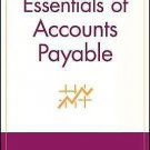 Essentials: Essentials of Accounts Payable 2 by Mary S. L. Schaeffer (2002,...