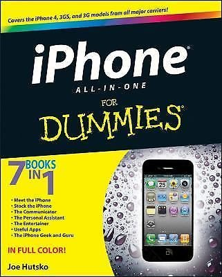 iPhone 4S All-in-One for Dummies® by Joe Hutsko and Barbara Boyd (2012,...