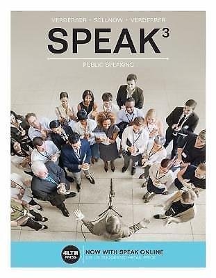 New, Engaging Titles from 4LTR Press: Speak 3 by Kathleen S. Verderber,...