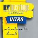 New Interchange Intro Student's Book : English for International...