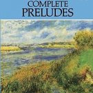 Dover Music for Piano: Complete Preludes Bks. 1 and 2 by Claude Debussy...