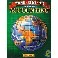 Accounting Ser.: Accounting Chapters 1-12 by Carl S. Warren and Philip E....