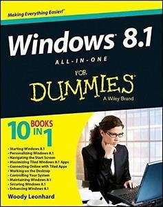 Windows 8. 1 All-In-One for Dummies by Woody Leonhard (2013, Paperback)