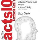 Outlines and Highlights for the Essentials of Statistics : A Tool for Social...