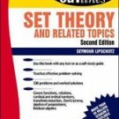 Schaum's Outline of Set Theory and Related Topics by Seymour Lipschutz (1998,...