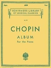 Schirmer's Library of Musical Classics: Album : For the Piano (1986, Paperback)