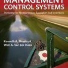 NEW - Free Express Ship - Management Control Systems by Merchant (3 Ed)