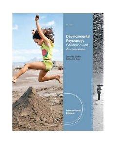 NEW - Free Shipping - Developmental Psychology by Shaffer, Kipp (9 Ed)