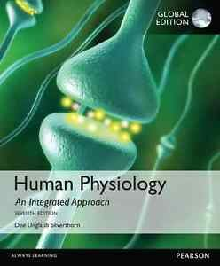 NEW BOOK ONLY. NO CODE - Free Express Ship - Human Physiology by Silverthorn 7E