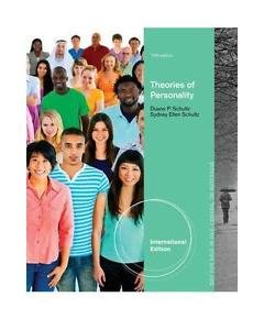 NEW Express Ship - [NOT Indian Ed] - Theories of Personality by Schultz (10 Ed)