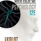 NEW - Free Express Ship - Biological Psychology by James Kalat (12 Ed)