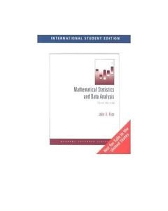NEW with CD - [NOT Indian Ed] - Mathematical Statistics & Data Analysis by Rice