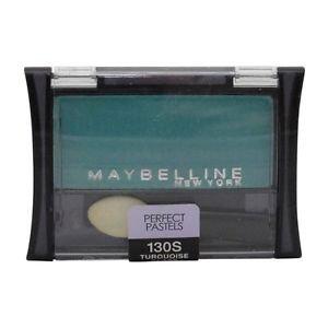 Maybelline New York Expert Wear Eyeshadow Singles, #130 Turquoise Glass