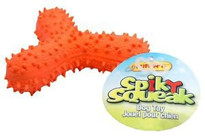 Spiky Dog Squeakers Toy
