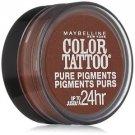 Maybelline Eye Studio Color Tattoo Pure Pigments, #40 Improper Copper, 0.05 Oz