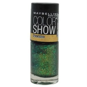 Maybelline Color Show Brocades Nail Lacquer, 790 Emerald Elegance