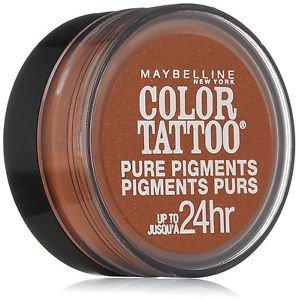 Maybelline Eye Studio Color Tattoo Pure Pigments, #35 Breaking Bronze, 0.05 Oz