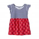 Baby Girl Jumping Beans Patriotic Print Tunic, 24 Months