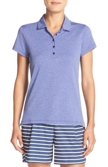 Women's Nike 'Precision' Dri-FIT Polo, Size X-Small - Blue
