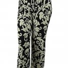 INC International Concepts Women's Elastic Waistband Pants, Dream Lady, P/M