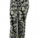 INC International Concepts Women's Elastic Waistband Pants, Dream Lady, P/M