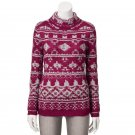 Women's Sonoma Goods for Life Boucle Turtleneck Sweater, Small