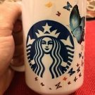 Custom Made and Personalized Starbucks style Butterflys 15oz Coffee Mug