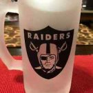Custom Made Frosted Oakland Raiders 16oz Beers Steins/Mug with your name.