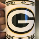 Custom Made Green Bay Packers 11oz Coffee Cup with your name.