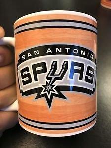 Custom Made San Antonio Spurs11oz Coffee Cup with your name.