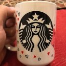 Custom Made and Personalized Starbucks style Heart 15oz Coffee Mug