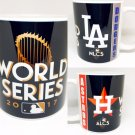 Custom Made Coffee Astros Dodgers World Series Mug Personalized with your name