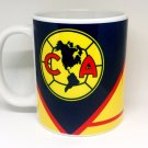 Custom Made Club America Soccer 11oz Coffee Cup with your name.