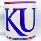 Custom Made KU Kansas Jayhawks Coffee Mug Personalized with your name