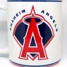 Custom Made White Anaheim Angels Coffee Mug with your name