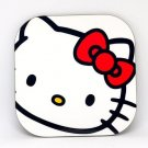 "Custom Made Drink Coasters ""Hello Kitty"" 4Pack"