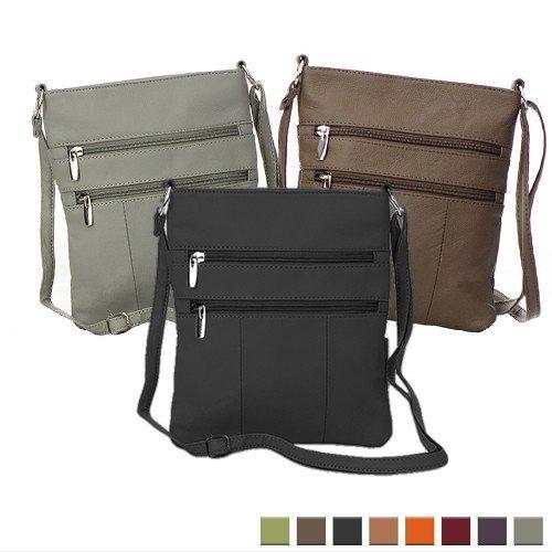 Venzillino Leather Crossbody Bag