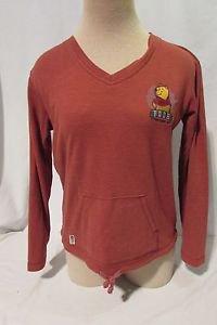 Winnie the Pooh Shirt Women's Small Long Sleeve V Neck Pockets Disney
