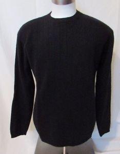 Ralph Lauren Sweater Men's  Large Crew neck  Black Long Sleeve Pullover