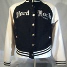 Hard Rock Hotel Letter Jacket Coat Women's Medium Lined Wool Orlando FL