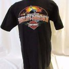 Harley Davidson T Shirt  Large Men's Orlando Eagle with American flag