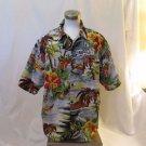 Hawaiian Big Men's 2XL Hawaiian Vintage Collection Short sleeve Shirt Mulit Colo