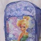 Tinkerbell Back Pack purple lavender Disney School Bag Tote