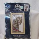 "Carousel Horse Postage Stamp Cross Stitch Kit Advanced 8"" x 12 1/4"" Kit"