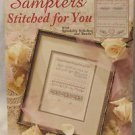 Counted Cross Stitch Samplers Pattern Booklet Leisure Arts Designs