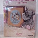 "Sentimental Clowns Cross Stitch Kit By Jody Bergsma 6 1/2"" x 5 1/3"""