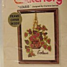 Coleus Embroidery Crewel Kit Vintage Jeffy Stitchery By Charlene Gerrish