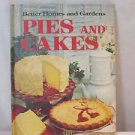 Better Homes and Gardens Pies and Cakes Cook Book Hard Cover