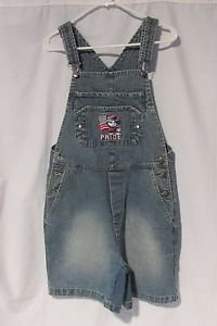 "Mickey Mouse Overall Denim Shorts Women's Waist 30"" Inseam 6"" Hips 38"""