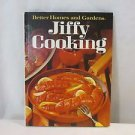 Better Homes and Gardens Jiffy Cooking Cook Book Hard Cover